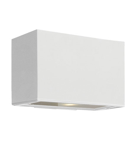 Hinkley Lighting Atlantis 1 Light GU24 CFL Outdoor Wall in Satin White 1645SW-GU24