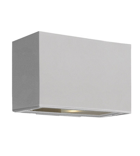 Hinkley Lighting Atlantis 1 Light GU24 CFL Outdoor Wall in Titanium 1645TT-GU24