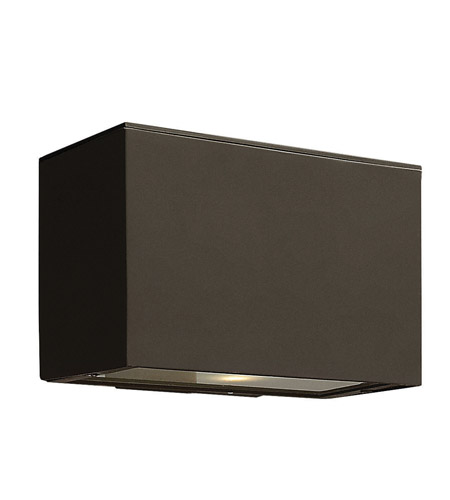Hinkley 1646BZ-GU24 Atlantis 1 Light 5 inch Bronze Outdoor Wall in GU24 photo