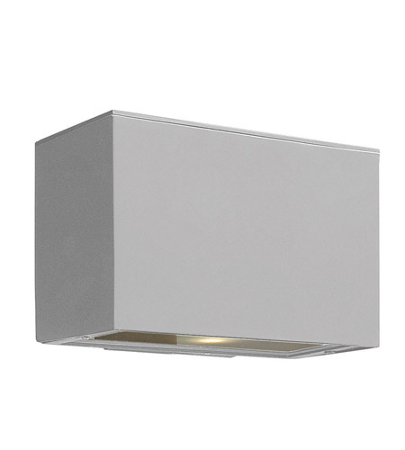 Hinkley Lighting Atlantis 1 Light GU24 CFL Outdoor Wall in Titanium 1646TT-GU24