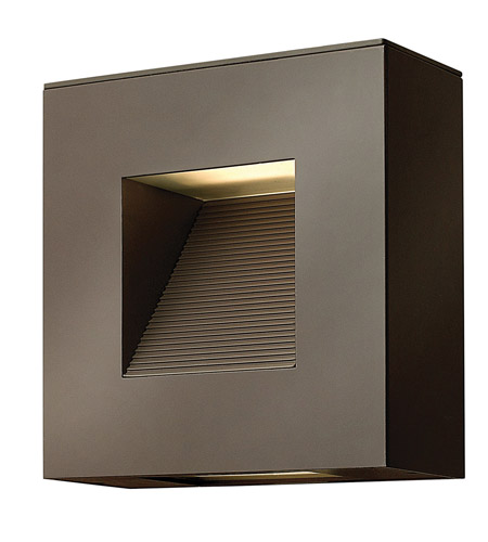 Hinkley Aluminum Luna Outdoor Wall Lights