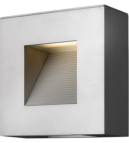 Hinkley Lighting Luna 2 Light Outdoor Wall Lantern in Titanium 1647TT