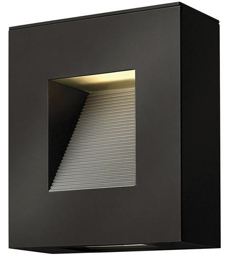 Hinkley Lighting Luna 2 Light Outdoor Wall in Satin Black 1647SK-LED