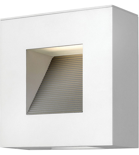 Hinkley Lighting Luna 2 Light Outdoor Wall in Satin White 1647SW-LED photo