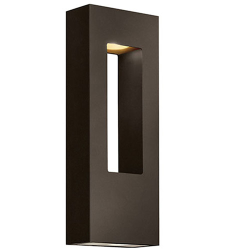 Hinkley 1648BZ Atlantis 2 Light 16 inch Bronze Outdoor Wall Lantern in Incandescent photo