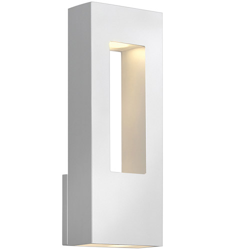 Hinkley Lighting Atlantis 2 Light Outdoor Wall Lantern in Satin White 1648SW