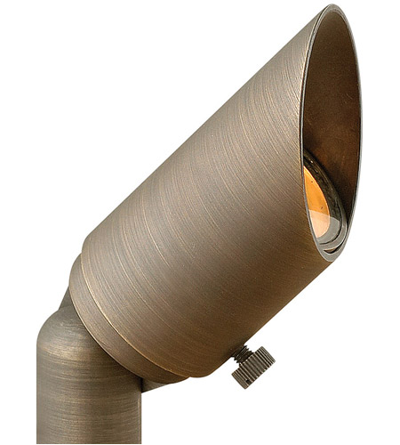 Hinkley 16501MZ Hardy Island 12V 20 watt Matte Bronze Landscape Spot Accent in Incandescent photo