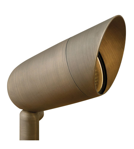 Hinkley Lighting Hardy Island 1 Light Landscape Spot Accent in Matte Bronze 16504MZ