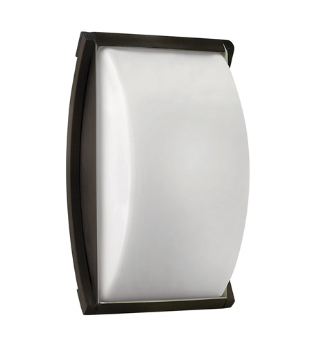 Hinkley 1650BZ-GU24 Atlantis 1 Light 11 inch Bronze Outdoor Wall in GU24 photo