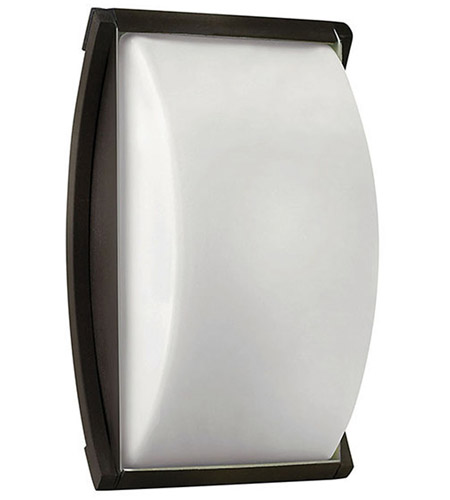 Hinkley Lighting Atlantis 1 Light Outdoor Wall Lantern in Bronze 1650BZ-LED