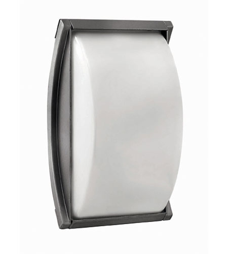 Hinkley Lighting Atlantis 1 Light Outdoor Wall Lantern in Titanium 1650TT-ES