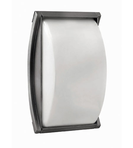 Hinkley Lighting Atlantis 1 Light Outdoor Wall Lantern in Titanium 1650TT-EST