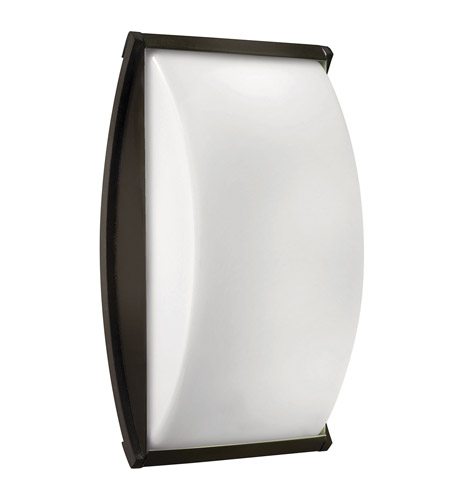 Hinkley 1655BZ-GU24 Atlantis 1 Light 15 inch Bronze Outdoor Wall in GU24 photo