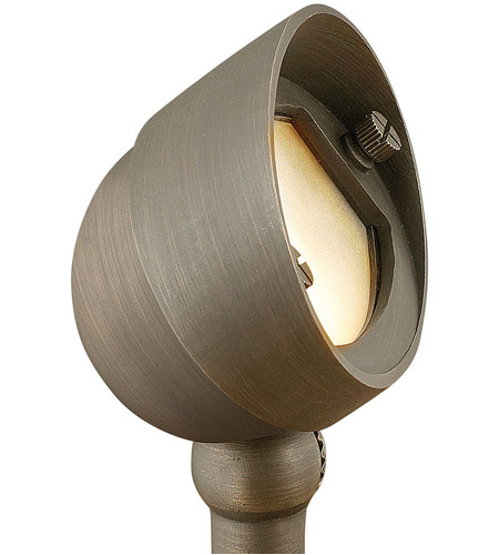 Hinkley Lighting Hardy Island 1 Light Landscape Flood Accent in Matte Bronze 16571MZ