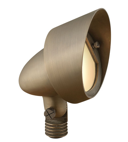 Hinkley Lighting Hardy Island 1 Light Landscape Flood Accent in Matte Bronze 16574MZ