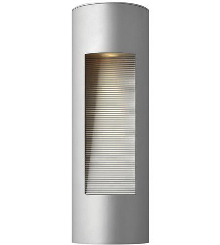 Hinkley Lighting Luna 2 Light Outdoor Wall Lantern in Titanium 1660TT