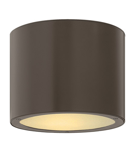 Hinkley 1663BZ-GU24 Luna 1 Light 8 inch Bronze Outdoor Ceiling in GU24 photo