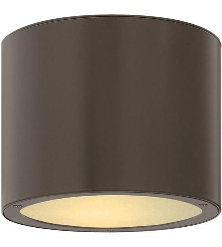 Hinkley Lighting Luna 1 Light Outdoor Ceiling Lantern in Bronze 1663BZ