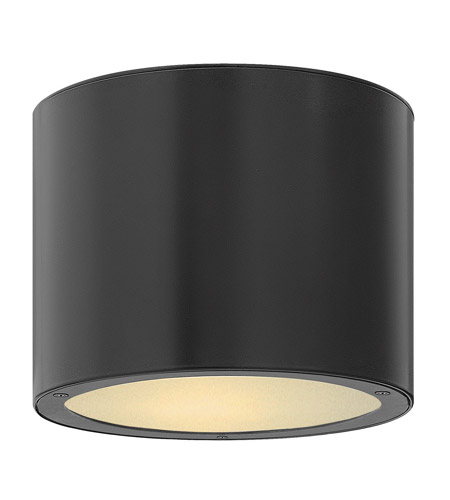 Hinkley Lighting Luna 1 Light Outdoor Ceiling Lantern in Satin Black 1663SK photo