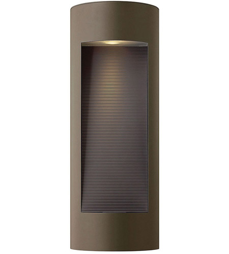 Hinkley Lighting Luna 2 Light Outdoor Wall Lantern in Bronze 1664BZ-LED