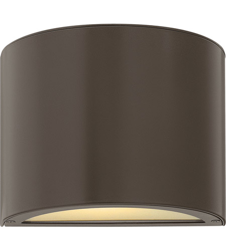 Hinkley Lighting Luna 1 Light GU24 CFL Mini Outdoor Wall Pocket in Bronze 1666BZ-GU24