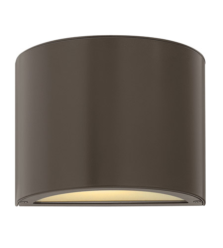 Hinkley Lighting Luna 1 Light Mini Outdoor Wall Pocket in Bronze 1666BZ