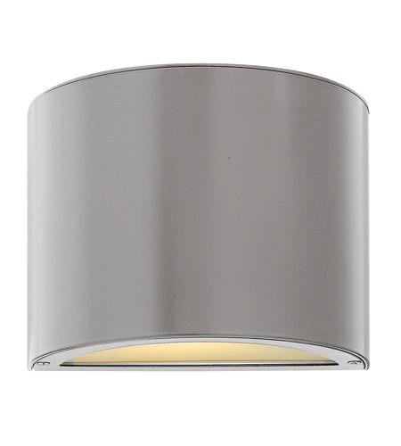 Hinkley Lighting Luna 2 Light LED Mini Outdoor Wall Pocket in Titanium 1666TT-LED