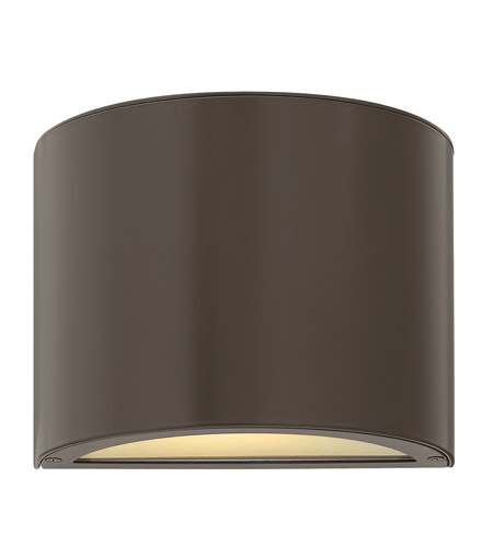 Hinkley Lighting Luna 1 Light GU24 CFL Mini Outdoor Wall Pocket in Bronze 1667BZ-GU24