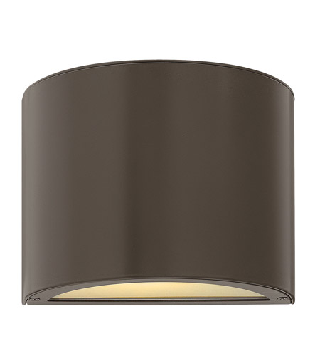 Hinkley Lighting Luna 2 Light LED Mini Outdoor Wall Pocket in Bronze 1667BZ-LED