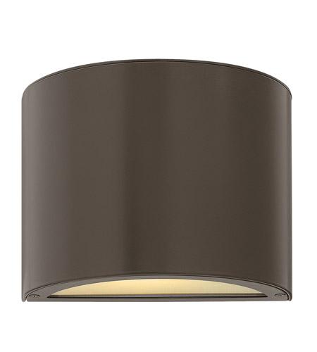 Hinkley Lighting Luna 2 Light LED Mini Outdoor Wall Pocket in Bronze 1667BZ-LED