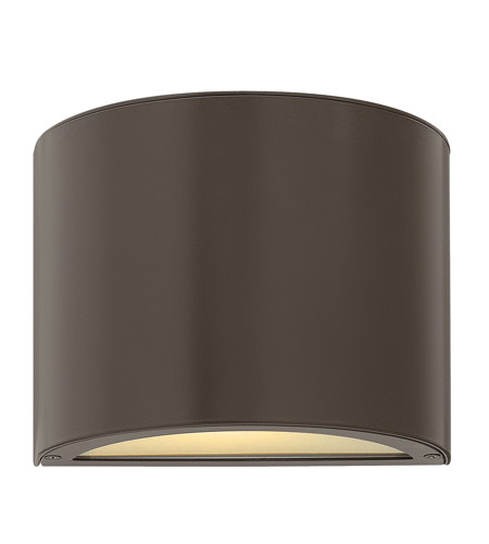 Hinkley Lighting Luna 1 Light Mini Outdoor Wall Pocket in Bronze 1667BZ