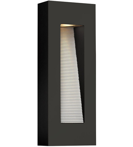 Hinkley 1668SK-LED Luna LED 16 inch Satin Black Outdoor Wall Mount photo