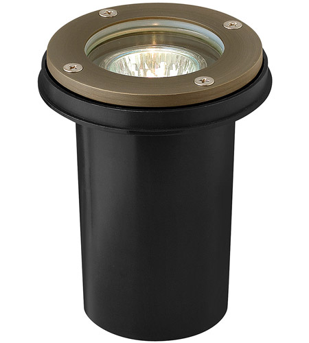 Hinkley 16701MZ Hardy Island 12V 20 watt Matte Bronze Landscape Well Light, Low Volt photo