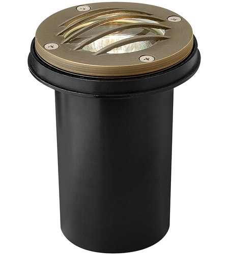 Hinkley 16704MZ Hardy Island 12V 20 watt Matte Bronze Well Light, Low Volt photo