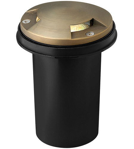 Hinkley 16710MZ Hardy Island 12V 20 watt Matte Bronze Well Light in Incandescent, Low Volt photo