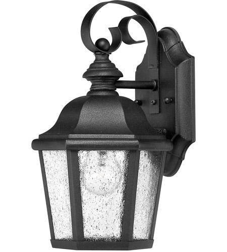 Hinkley Lighting Edgewater 1 Light LED Outdoor Wall in Black 1674BK-LED