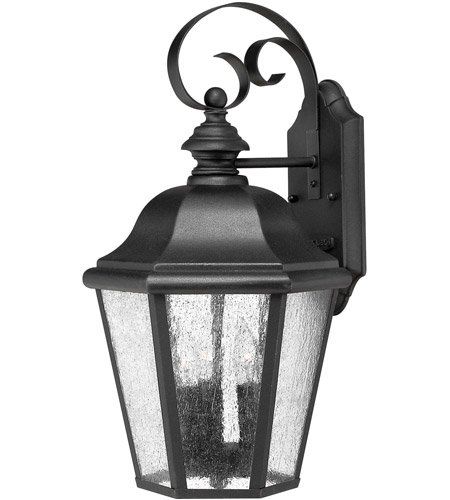 Hinkley Lighting Edgewater 1 Light LED Outdoor Wall in Black 1676BK-LED photo