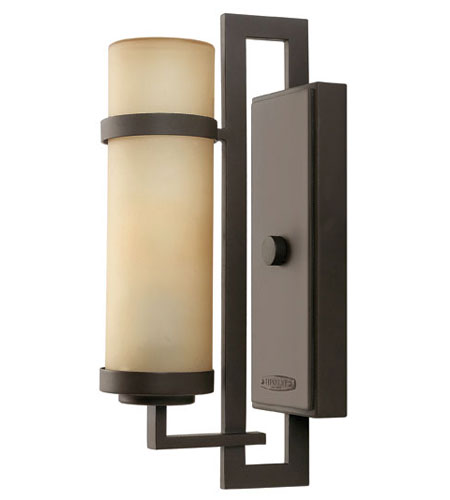 Hinkley Lighting Cordillera 1 Light Outdoor Wall Lantern in Buckeye Bronze 1690KZ-ES photo
