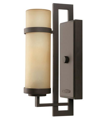 Hinkley Lighting Cordillera 1 Light GU24 CFL Outdoor Wall in Buckeye Bronze 1690KZ-GU24