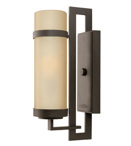 Hinkley Lighting Cordillera 1 Light Outdoor Wall Lantern in Buckeye Bronze 1694KZ-ES photo
