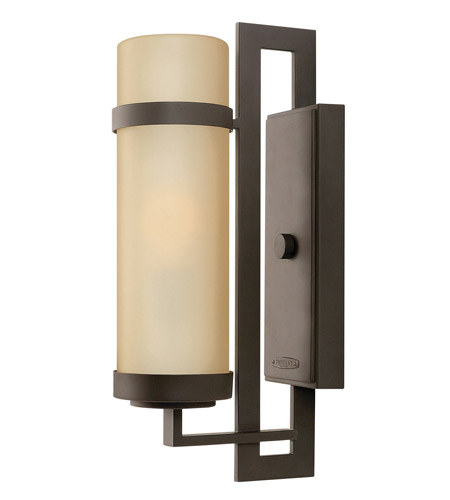 Hinkley Lighting Cordillera 1 Light GU24 CFL Outdoor Wall in Buckeye Bronze 1694KZ-GU24