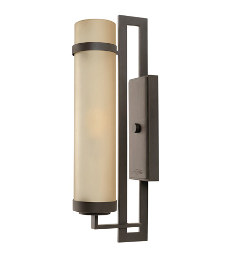 Hinkley Lighting Cordillera 1 Light Outdoor Wall Lantern in Buckeye Bronze 1695KZ photo