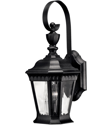 Hinkley Lighting Camelot 1 Light LED Outdoor Wall in Black 1700BK-LED