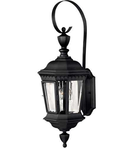 Hinkley 1704BK Camelot 3 Light 27 inch Black Outdoor Wall Lantern photo
