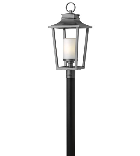 Hinkley Lighting Sullivan 1 Light Energy Star Post Lantern (Post Sold Separately) in Hematite 1741HE-ES photo