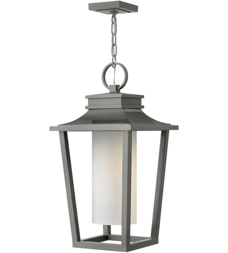 Hinkley 1742HE-LED Sullivan LED 12 inch Hematite Outdoor Hanging Lantern photo