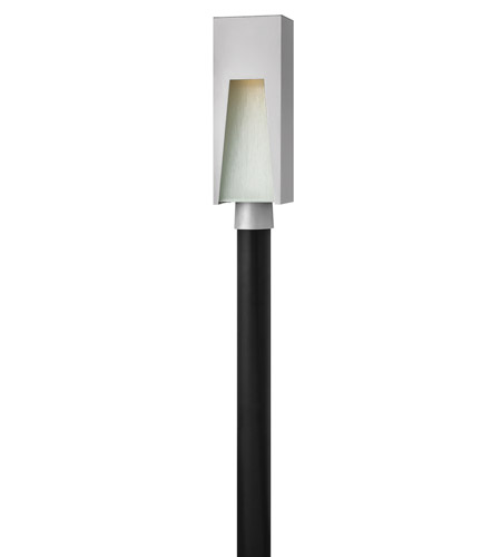 Hinkley Lighting Kube 1 Light LED Post Lantern (Post Sold Separately) in Titanium 1761TT-LED