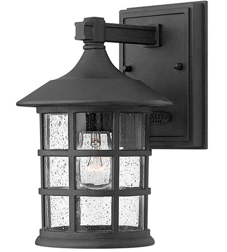 Hinkley Lighting Freeport 1 Light LED Outdoor Wall in Black 1800BK-LED