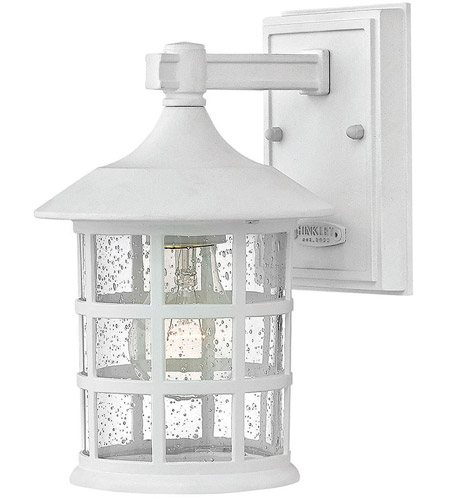 Classic White Outdoor Wall Lights