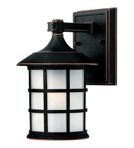 Hinkley Lighting Freeport 1 Light Outdoor Wall Lantern in Olde Penny 1800OP-ES photo